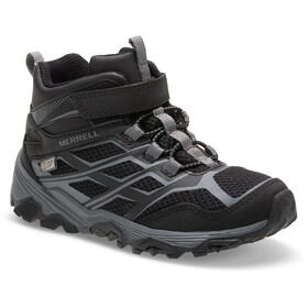 Merrell M-Moab FST Mid A/C Waterproof Chaussures Enfant, black